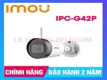 CAMERA THÂN IP WIFI 4.0MP IMOU IPC-G42P CHUẨN H265