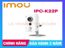 CAMERA CUBE IP WIFI 2.0MP IMOU IPC-K22P CHUẨN H265
