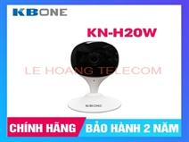 CAMERA WIFI CỐ ĐỊNH 2.0MP KBONE KN-H20W CHUẨN H265, TÍCH HỢP MIC