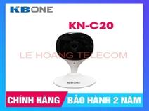 CAMERA WIFI CỐ ĐỊNH 2.0MP KBONE KN-C20 CHUẨN H265, TÍCH HỢP MIC