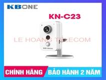 CAMERA WIFI CỐ ĐỊNH 2.0MP KBONE KN-C23 CHUẨN H265, TÍCH HỢP MIC