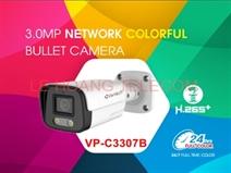 CAMERA THÂN IP FULL COLOR 3.0MP VANTECH VP-C3307B